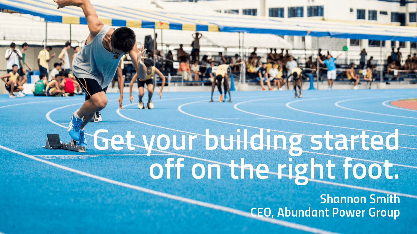 Get Your Building Started Off on the Right Foot