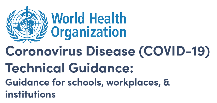 WHO Guidance for Workplaces